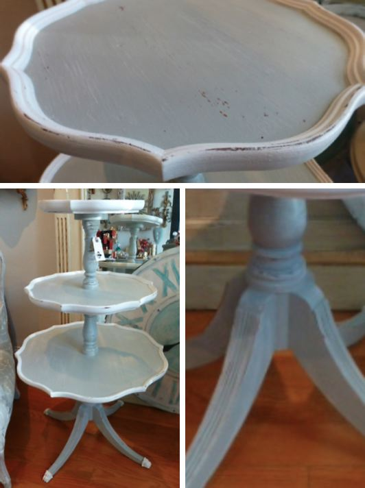 Charmant Vintage 3 Tier Table. Fabulous ...
