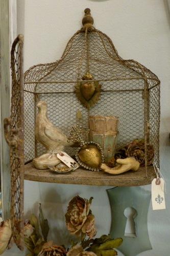 Decorative wall birdcage - Cage a oiseaux decorative ...