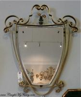 Italian Crest Mirror