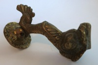 Vintage Bronze Dolphin Door Knock