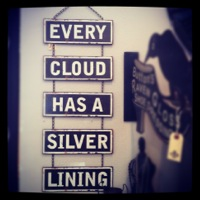 Metal Sign Every Cloud Has A Silver Lining