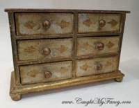 Florentine 6 Drawer Jewelry Box