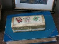 Florentine Stamp Box