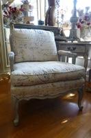 Vintage Bergere Chair