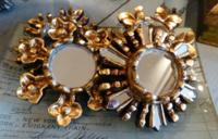 Petite Gilt Burst Mirrors