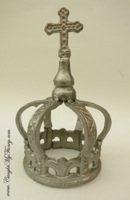 Silver Iron Crown