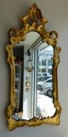 Italian Gold Giltwood Mirror