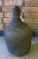 Mesh Wrapped French Bottle