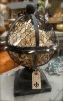 Mesh Orb Sphere Garden Finial