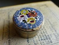 Micro Mosaic Italian Box