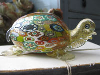 Murano Glass Millefiori Turtle
