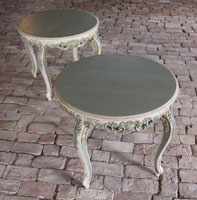 Pair of French Provincial Tables