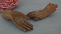 Petite Pair Santos Hands