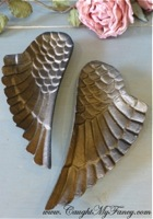 Metal Angel Wing Shaped Trays, Jewelry Dish