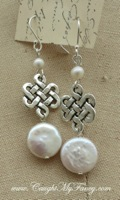 Sterling & Freshwater Pearl Earrings