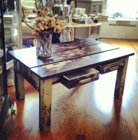 Vintage Rustic Coffee Table