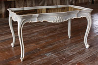 French Mirrored Top Coffee Table