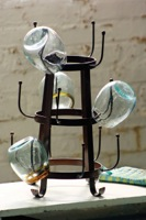 Small Industrial Bottle Drying Rack
