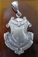 English Shield Pendant