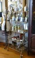 Italian Rope & Tassel Tall Shelf