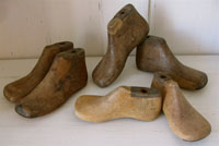 Vintage Wood Shoe Forms